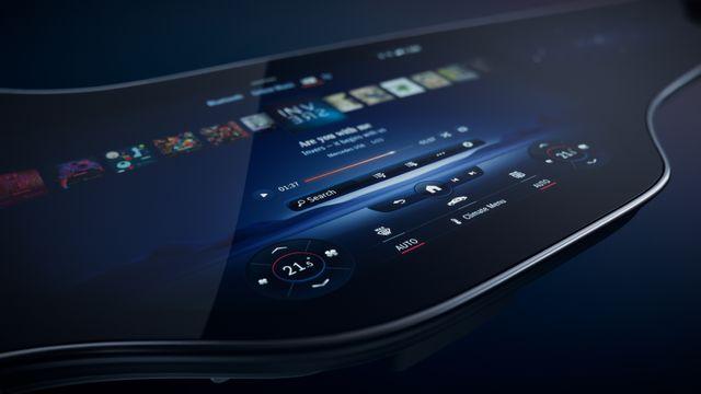 Mercedes-Benz Reveals its Unique MBUX Hyperscreen