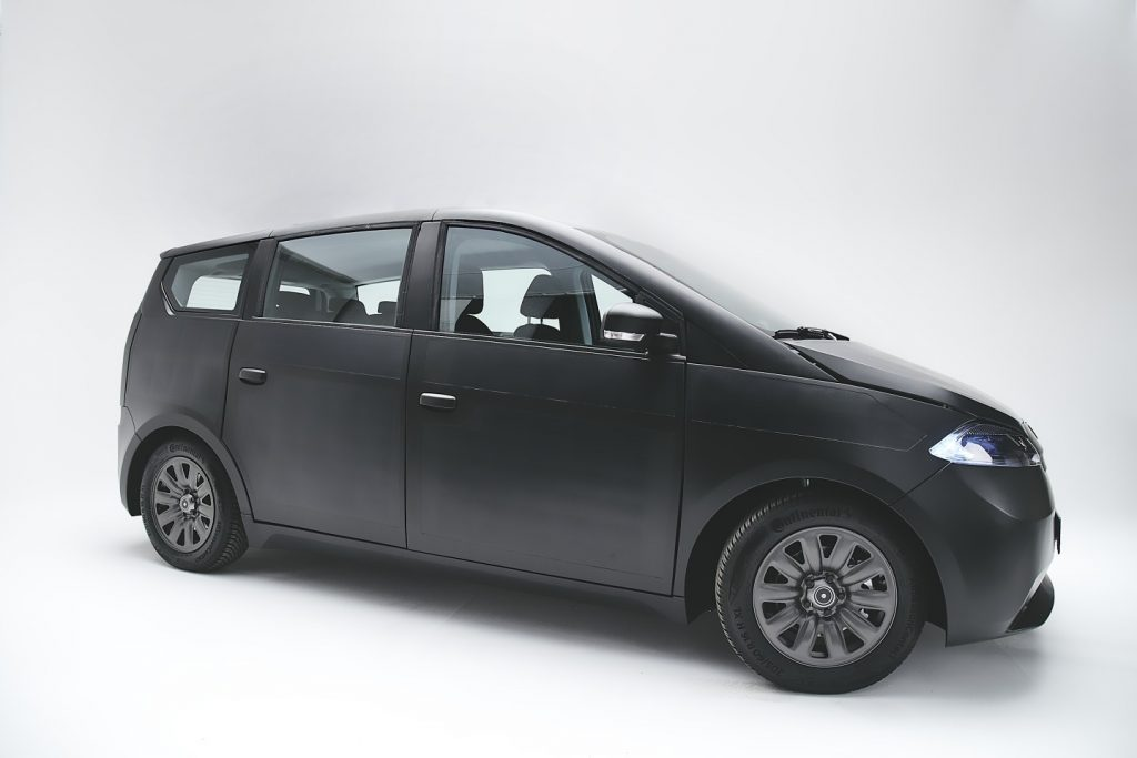 Sono Motors Launches Sion Solar, a Solar Powered Electric Car
